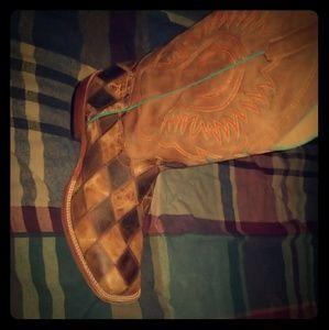 HP cowboy boots